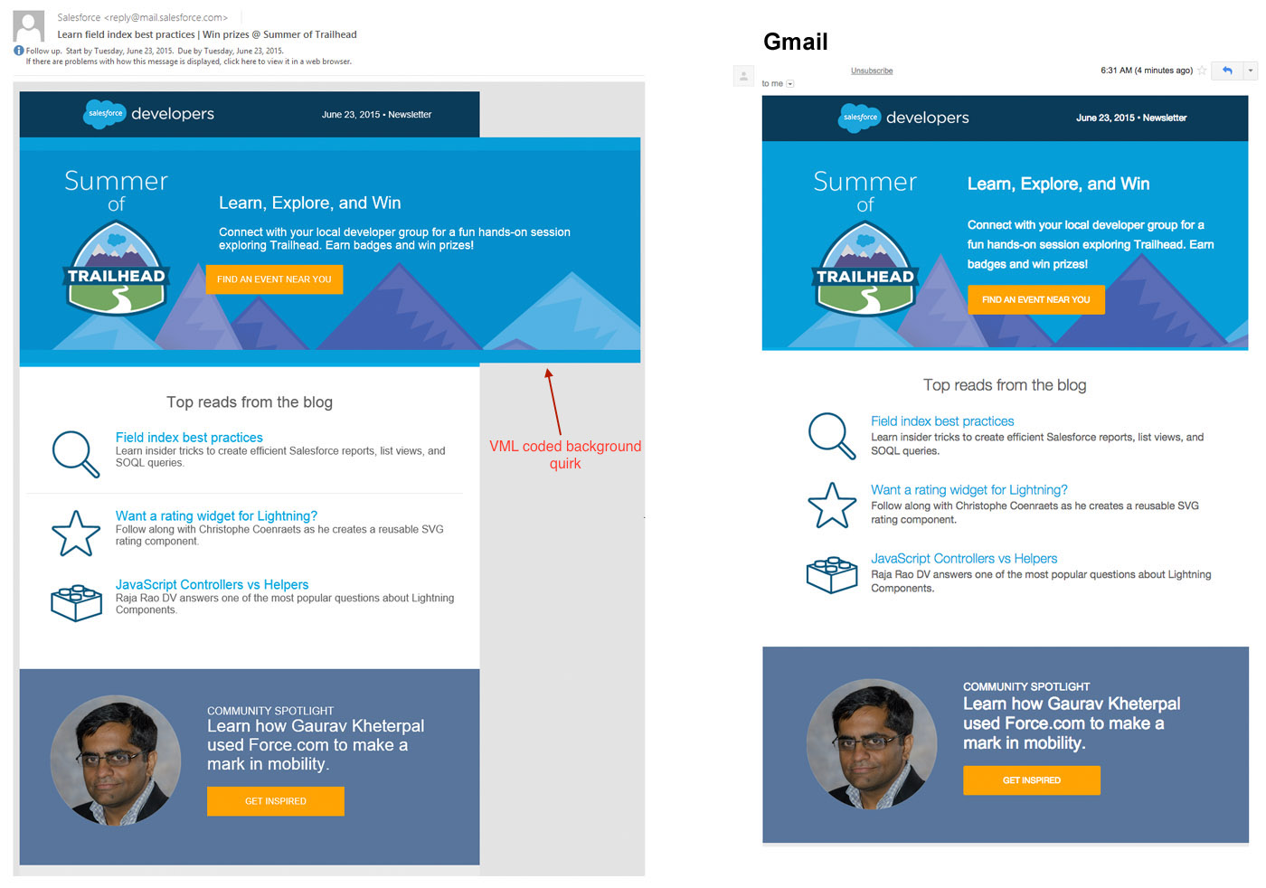 Email background image outlook - This Email Uses The Vml Background Image Hack Since Vml Cannot Be Tested In A Browser This Can Lead To Unexpected Rendering Quirks