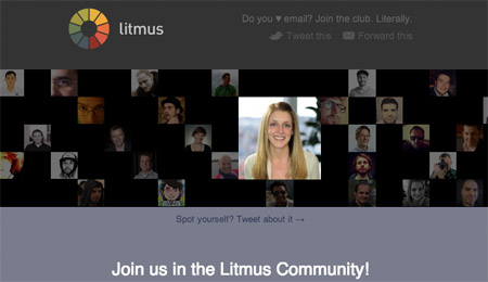 Litmus Community Email