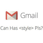 Gmail #CanHasStyle ?