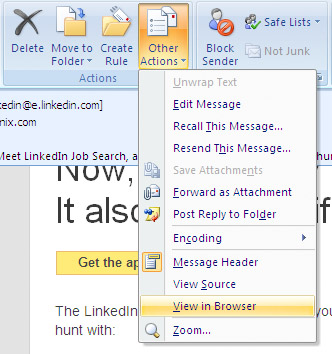 Outlook View In Browser