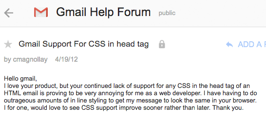 gmail-forum